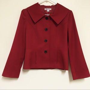 Pendleton Petite 100% Virgin Wool Blazer Jacket 4